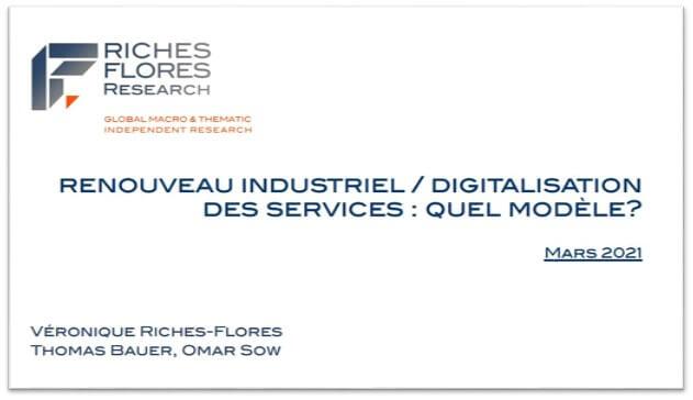 SCÉNARIO Mars 2021 :  Renouveau industriel vs digitalisation des services : quel modèle?